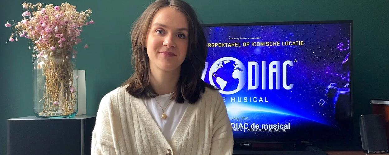 Hoofdrolspeelster Zodiac de musical doet oproep aan 8-jarige kinderen in Breda