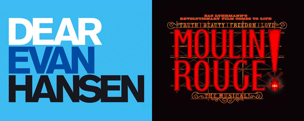 Dear Evan Hansen en Moulin Rouge! keren terug op Broadway