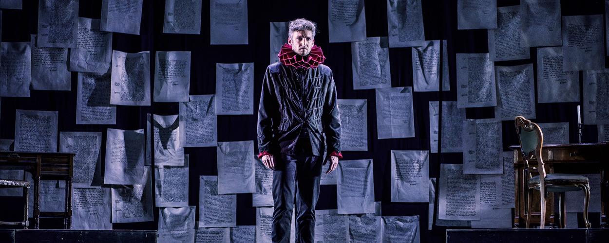 Eerste scenefoto's van Hugo de Groot, de musical
