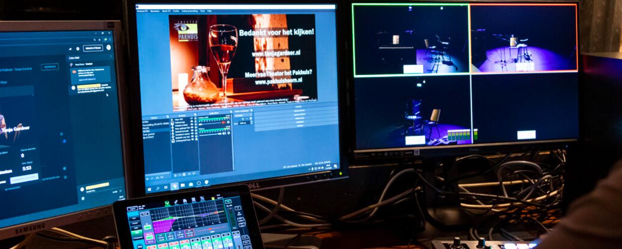 Vier livestreamavonden met Hoornse podiumkunsttalenten