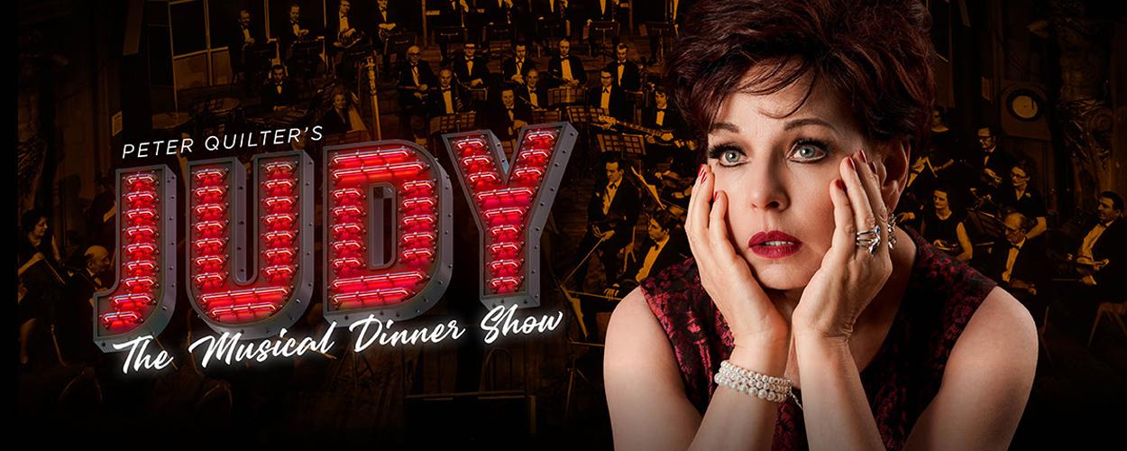 Els de Schepper als Judy Garland in jubileumproductie Judy, the musical dinner show