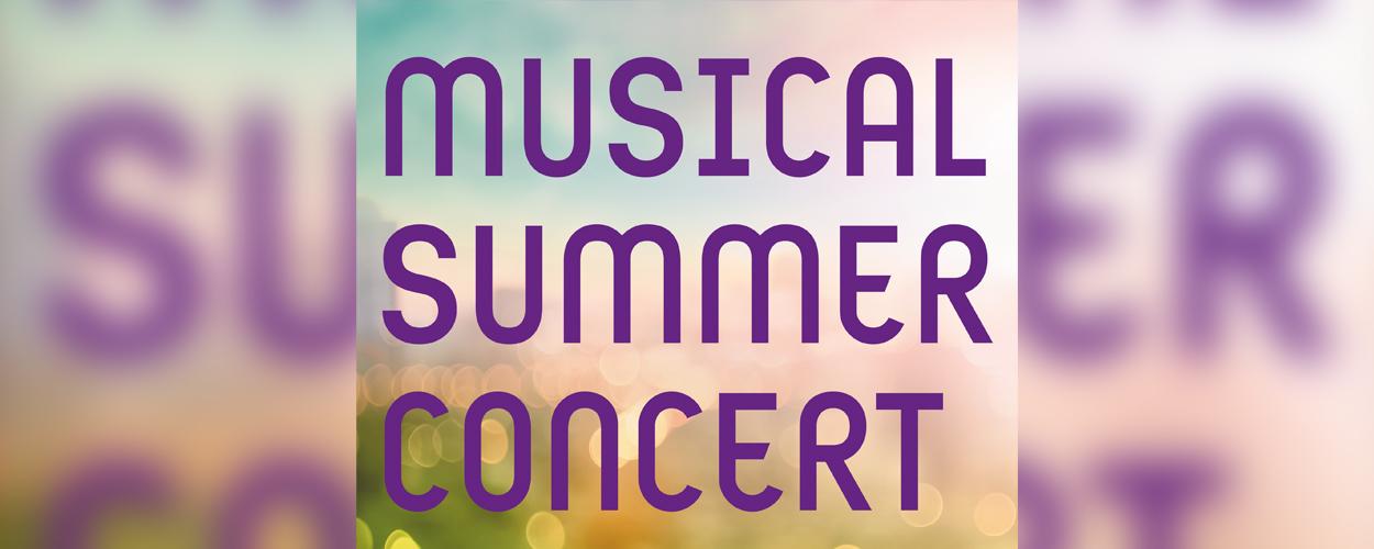 Musical Summer Concert deze zomer terug in Zuiderparktheater Den Haag