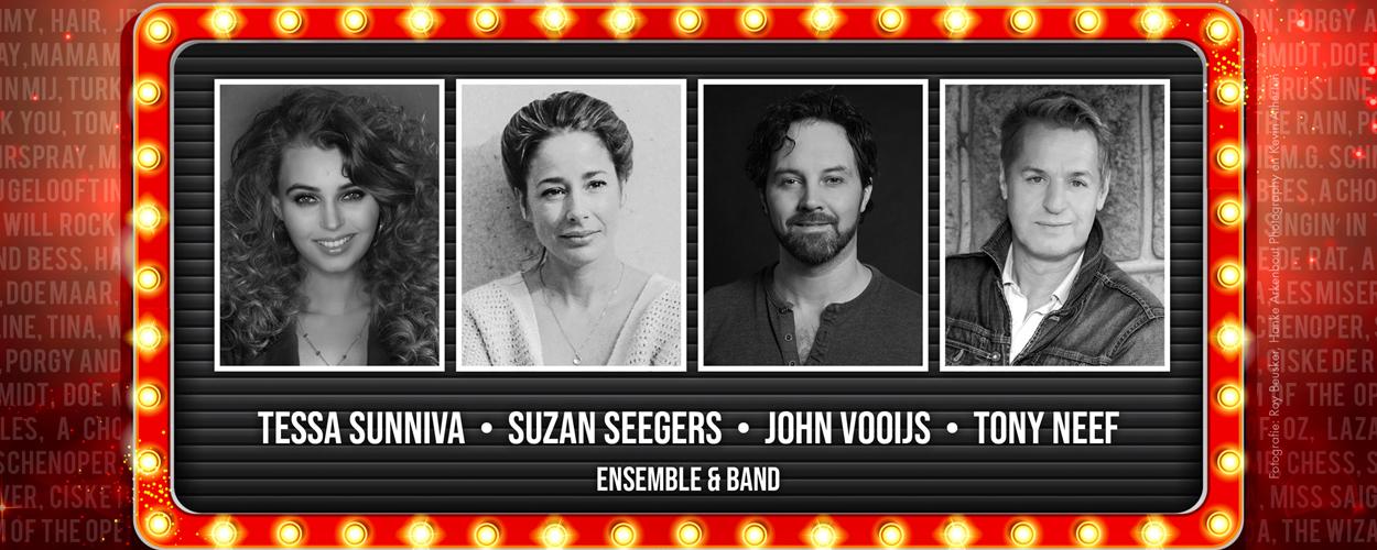 The Sound of Musicals met Tessa Sunniva, Suzan Seegers, John Vooijs en Tony Neef