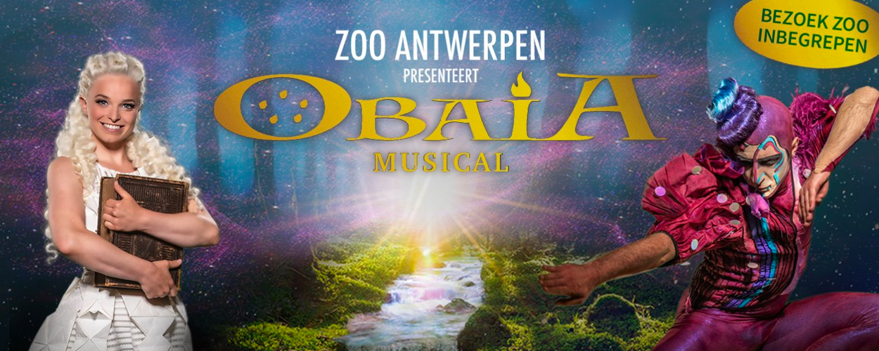 ZOO Antwerpen presenteert nieuwe musical Obaia