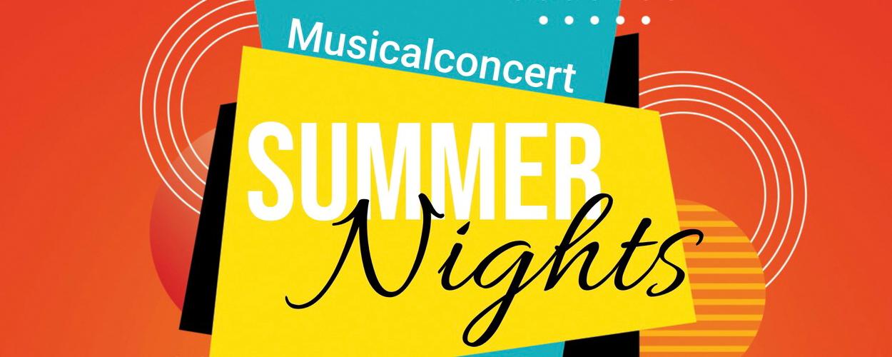 Musicalconcert Summer Nights, met Tony Neef, Tessa Sunniva en Eline de Jong