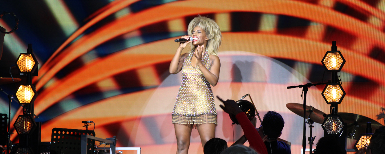 Videoclip van River Deep Mountain High uit TINA – De Tina Turner Musical