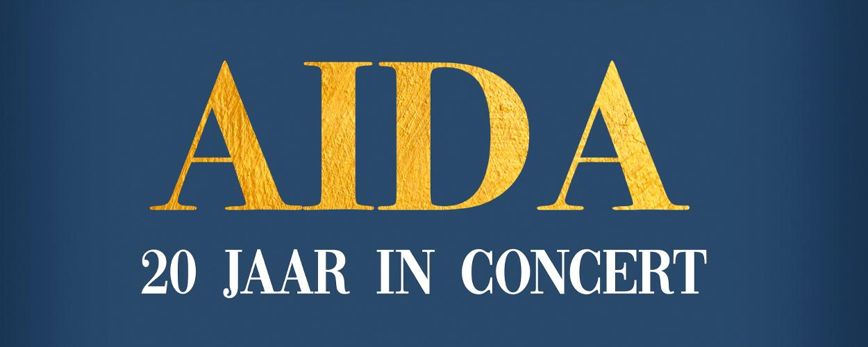 Aïda 20 jaar, in concert