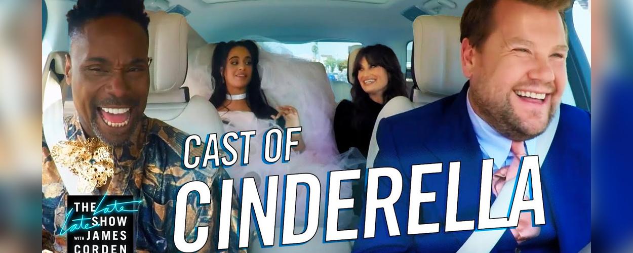Carpool Karaoke met Camila Cabello, Billy Porter, en Idina Menzel