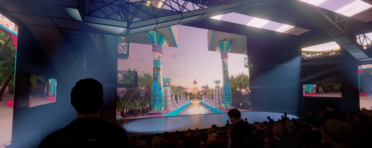 Sneak peek van het decor van ONE de Musical