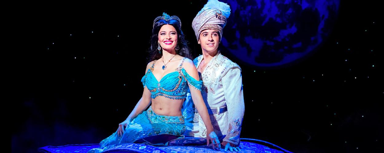 Bekijk de eerste scènefoto's van Aladdin