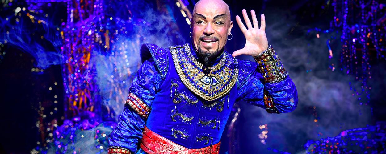 Eerste beelden van Aladdin de musical, Arabische nacht