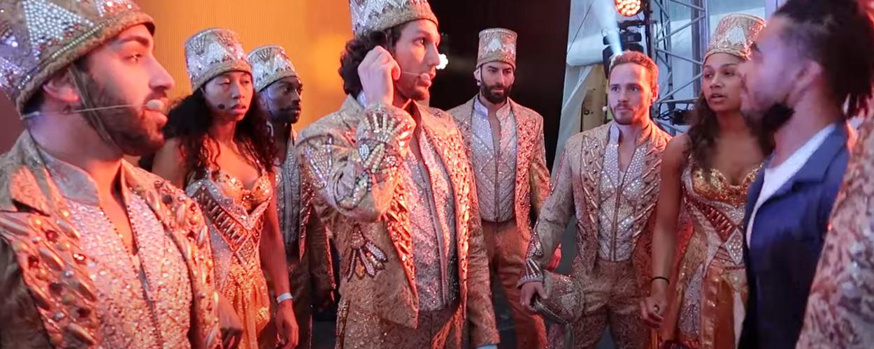 Vlog 3: Achter de schermen bij de repetities van Aladdin