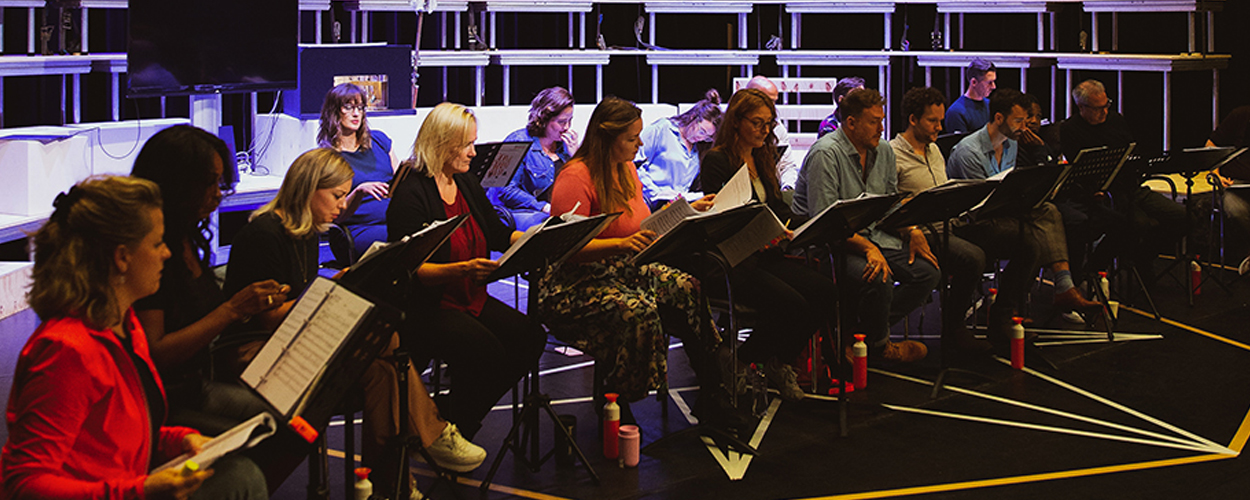 Repetities Come From Away begonnen