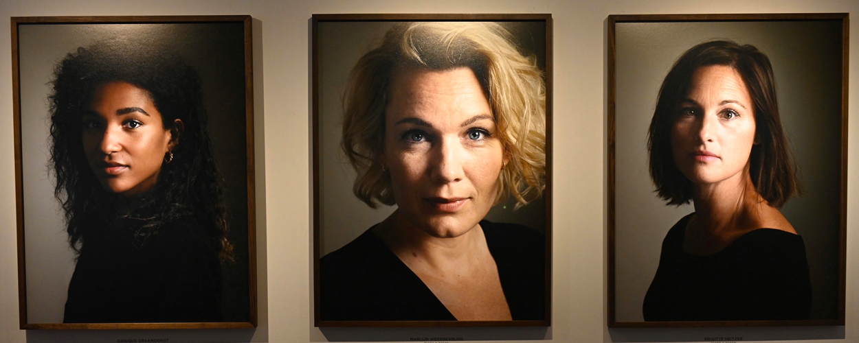Permanente portretgalerij DeLaMar uitgebreid met 12 nieuwe foto's