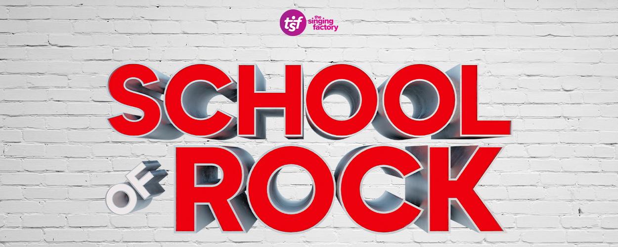 The Singing Factory brengt musicalversie van School of Rock in Antwerpen