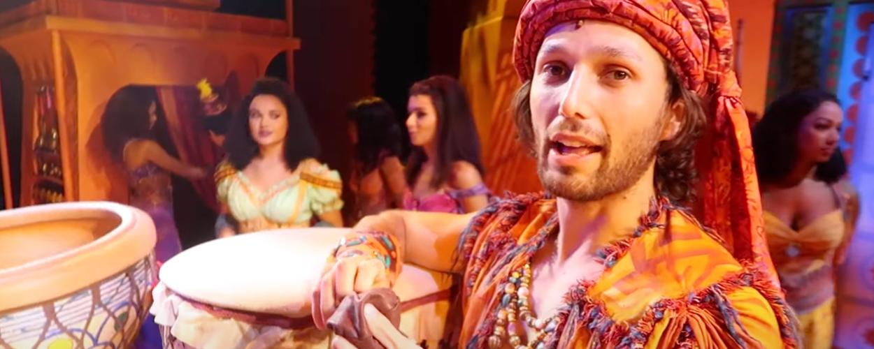 Vlog 4: Achter de schermen bij de repetities van Aladdin